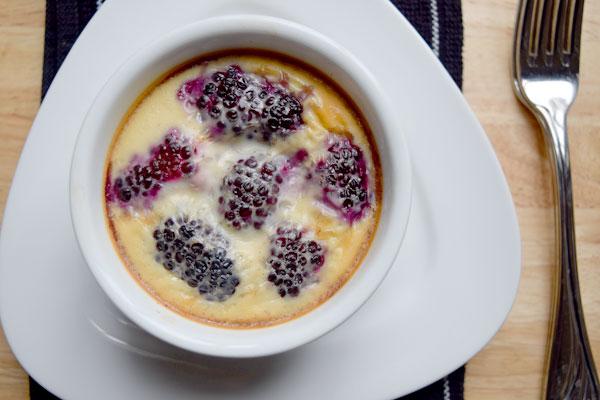 cardamom berry clafoutis