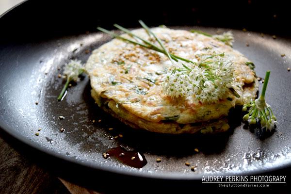 chive-pancake