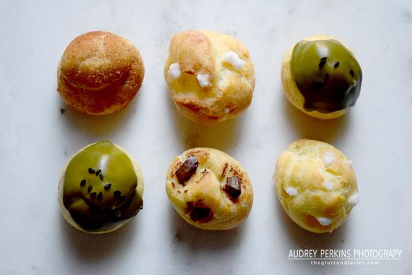 chouquette cream puff